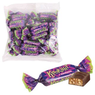 """YASHKINO / Chocolate sweets """"Crocant"""", roasted nuts with almonds and peanuts, bag, 1 kg"""