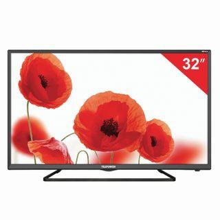 Телевизор TELEFUNKEN TF-LED32S52T2S, 32'' (81 см), 1366x768, HD, Smart TV, Android, Wi-Fi, черный