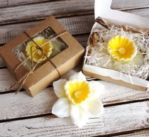 Handmade soap Narcissus