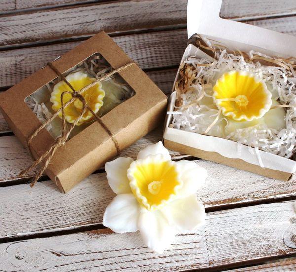 Handmade soap Narcissus