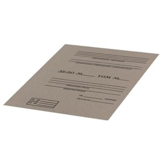 Cardboard binding covers A4 305х220 mm, stamped