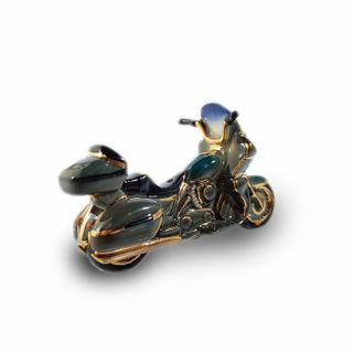 "Christmas tree toy ""Motorcycle green"""