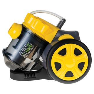Vacuum ECON ECO-1440VC, container, cyclone, 1400 W suction power 300 W, black/yellow