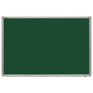 The chalk Board magnetic (60x90 cm), green, aluminum frame, OFFICE