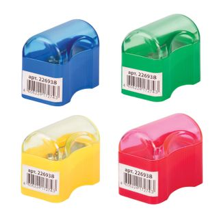 PYTHAGORAS sharpener with container plastic
