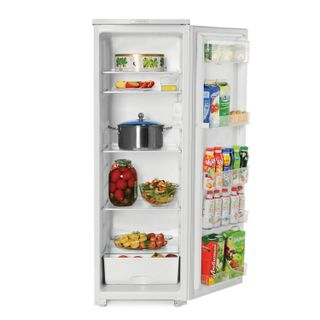 SARATOV refrigerator 569 KS-220/0, total volume 220 liters, no freezer, 147x48x60 cm, white