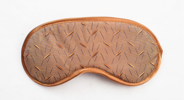 "Sleep mask ""Light brown """