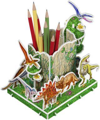 3D puzzle - pencil. The Cretaceous period