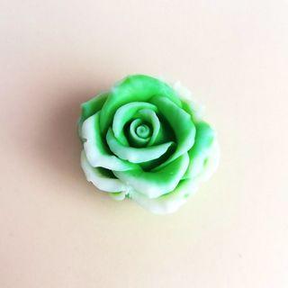 Handmade soap Rose green