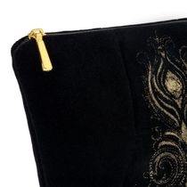 Velvet cosmetic bag 'Aida'