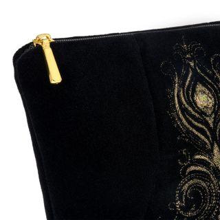 "Velvet cosmetic bag ""Aida"""
