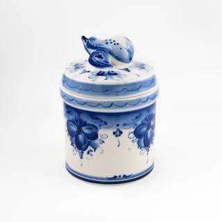 Bank Pear 1 small grade, Gzhel Porcelain factory