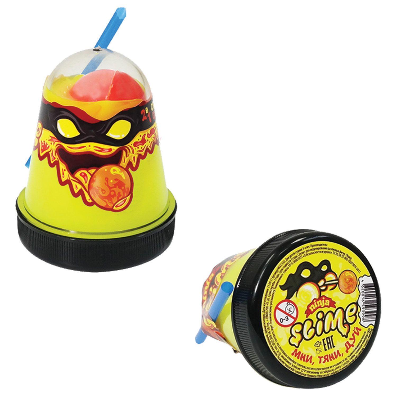 """Slim (lisun) """"Slime Ninja"""", 2 in 1, yellow, red, 130 g, WORLD"""