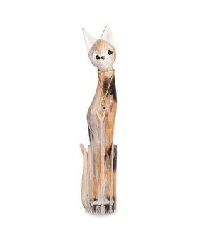 """Wooden statuette """"Cat"""" 80cm"""