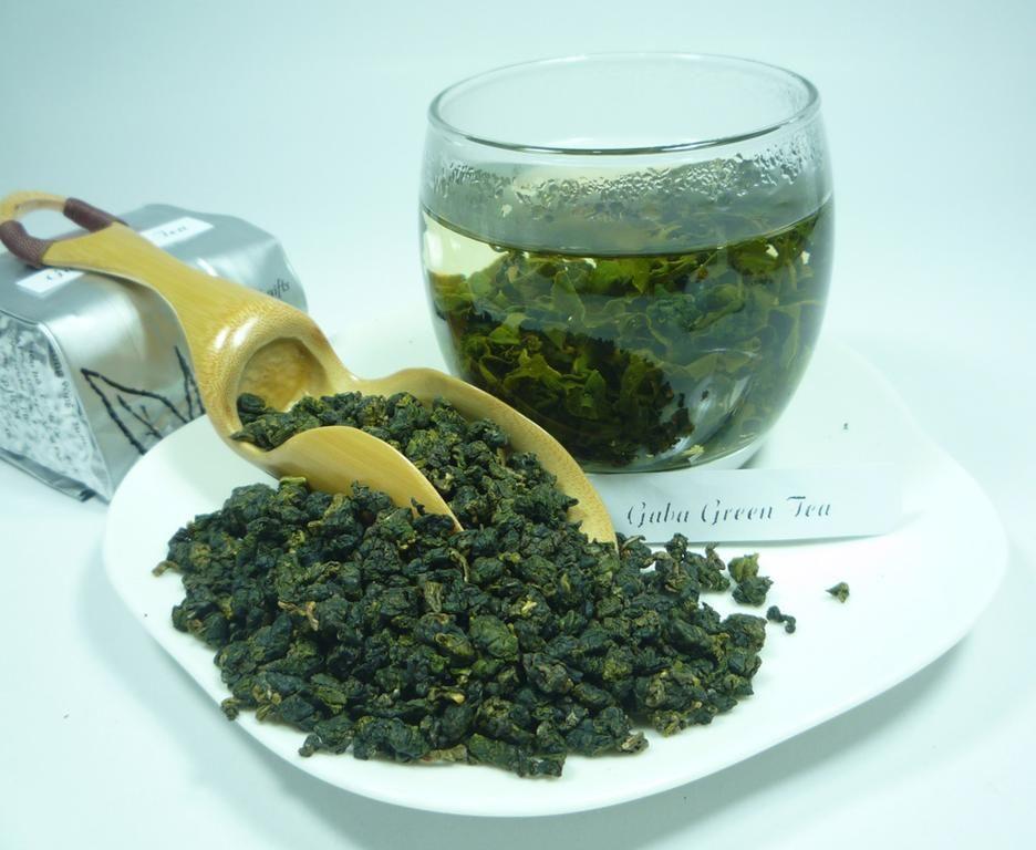 Green leaf tea natural