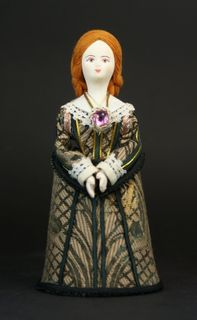 Doll gift. Kids costume. The middle of the 17th century. The Swedes.