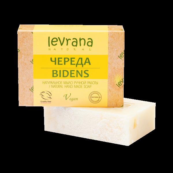 "Natural handmade soap ""a string"", LEVRANA"