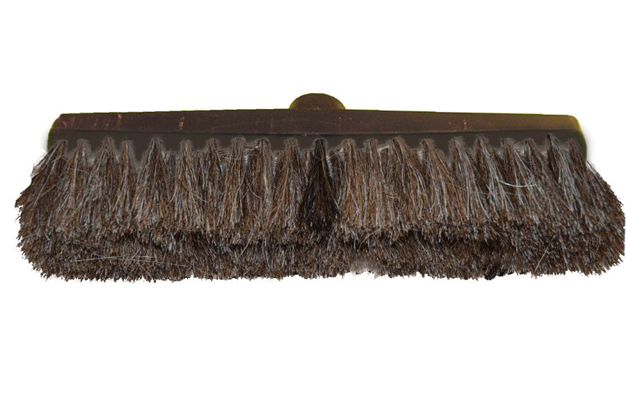Brush enterprise in Torzhok / C2 floor brush made of natural horsehair, sleeve / 280/4