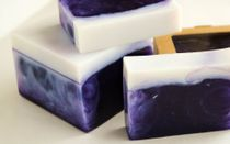 Blackcurrant-Almond - handmade soap
