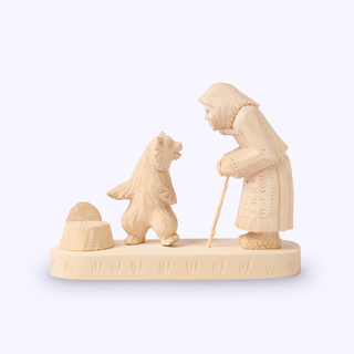 Bogorodskaya toy / Wooden souvenir