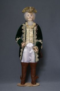 Doll gift. Baron Munchausen. Styling