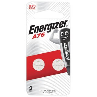 ENERGIZER / Batteries A76 (G13, LR44), alkaline in blister, KIT 2 pcs.