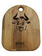 "3/4 Arshina / Kitchen chopping board ""Bull"", 250 x 200 x 25 mm - view 1"