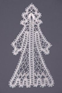 "Lace decor ""Snow Maiden"""