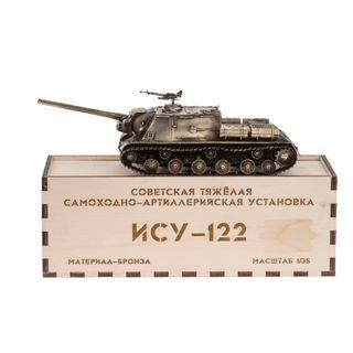 Model tank ISU-122 1:35