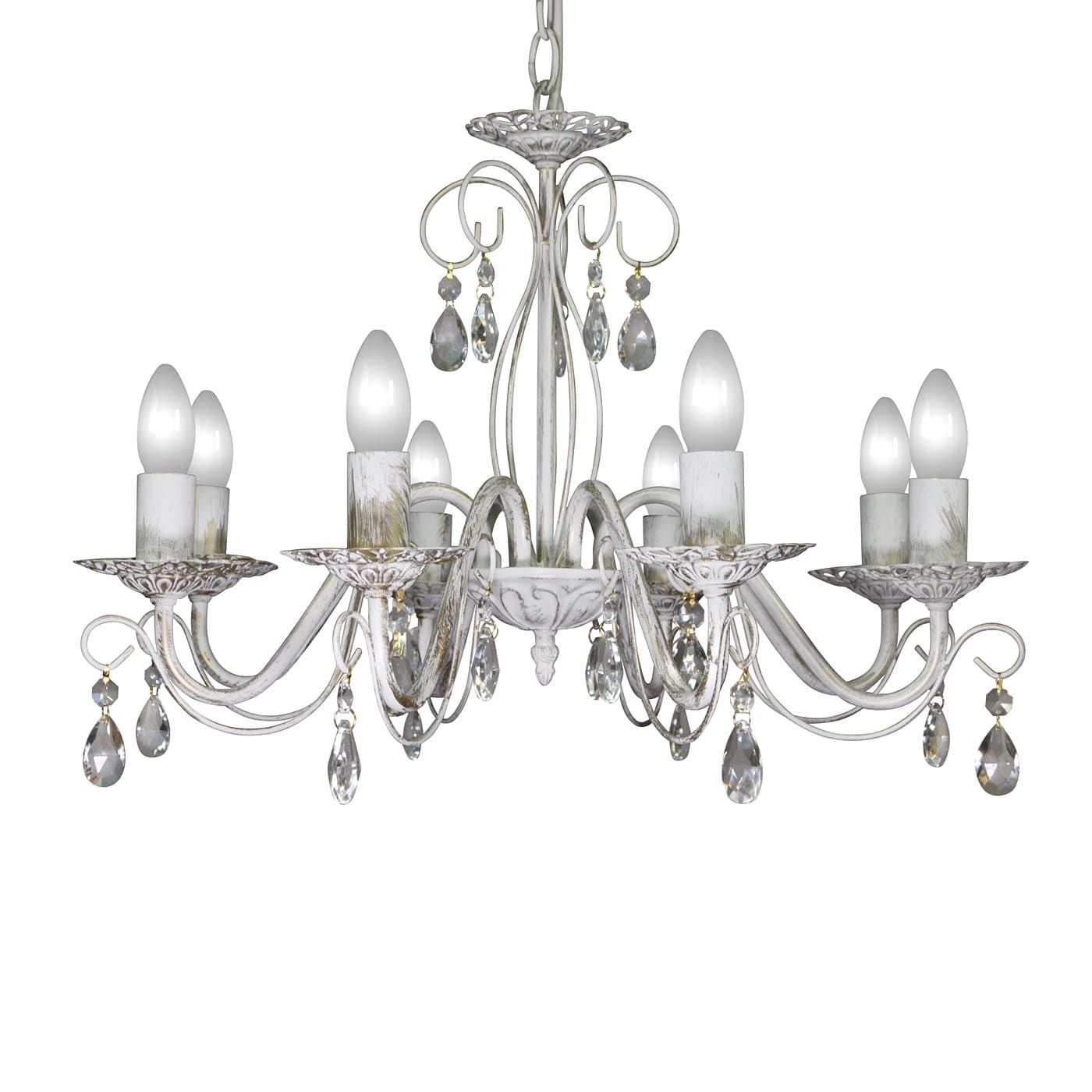 PETRASVET / Pendant chandelier S8066-8, 8xE14 max. 60W