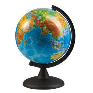 GLOBE WORLD / Physical globe, diameter 210 mm (Russia)