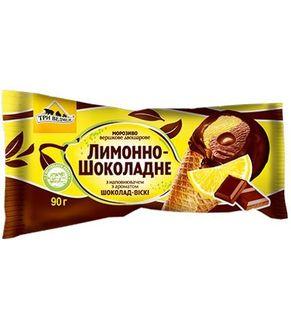 Chocolate ice cream from Ukraine