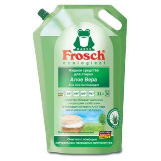 "Liquid detergent liquid universal FROSCH ""Aloe Vera"" (Germany) for all types of fabrics ECO 2 l"