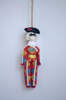 Harlequin. Doll gift