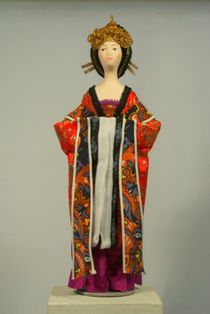 Doll gift. Women's suit, China