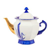 Kettle Faceted 'Spikes' Z, Gzhel Porcelain factory