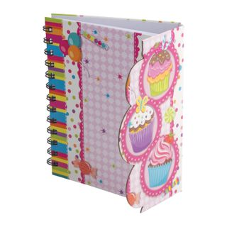 Notebook A5 (130 x175 mm), 80 sheets, spiral, hardcover, magnetic valve, line, BRAUBERG