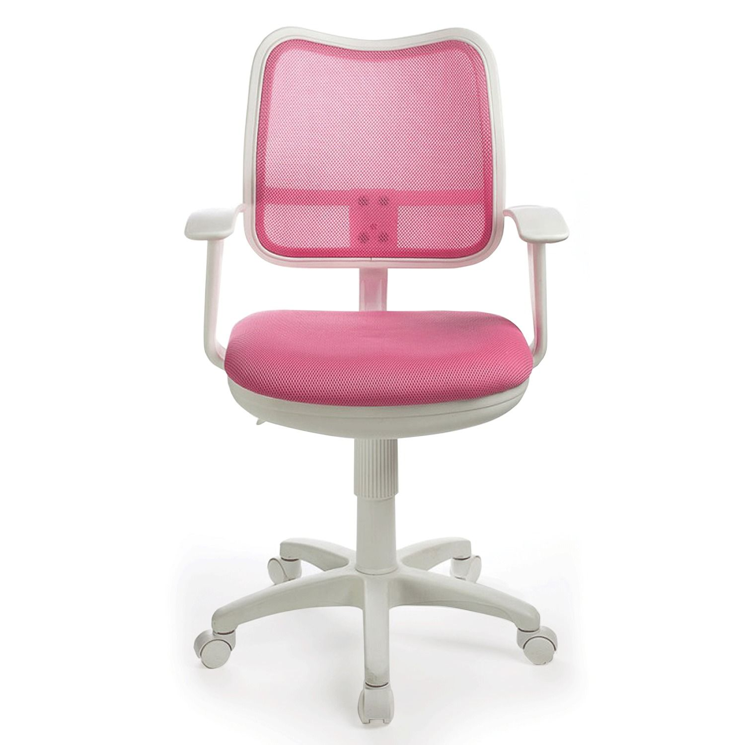 Armchair CH-W797 / PK with armrests, pink