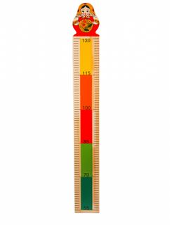 "Height chart wooden ""Matryoshka"""