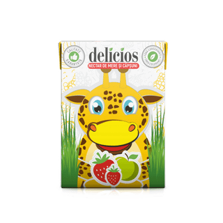 Apple juice-strawberry Delicios 200 ml