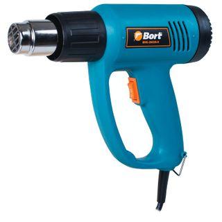 Fen Technical, 2000 W, 350-550 degrees, 300-500 l/min, 4 nozzles, BORT BHG-2005N-K