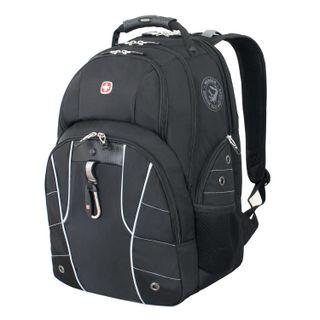 WENGER backpack, universal, black, ScanSmart function, 29 l, 34х18х47 cm