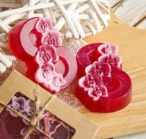 Olive Gift Soap March 8 Orchids 005