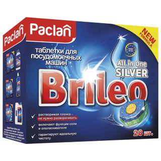 Dishwashing tablets in dishwashers 28 pieces, PACLAN Brileo