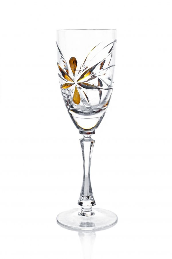 """A set of crystal glasses for red wine """"Freestyle"""" 6 pieces"""