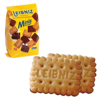 """BAHLSEN / Cookies """"Minis Choko"""" butter with chocolate, 100 g, Germany"""