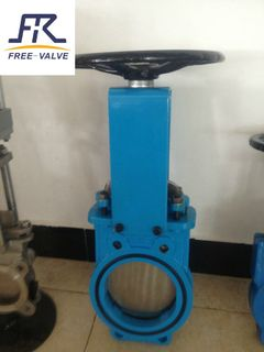 Bi directional knife gate valve,slurry gate valve