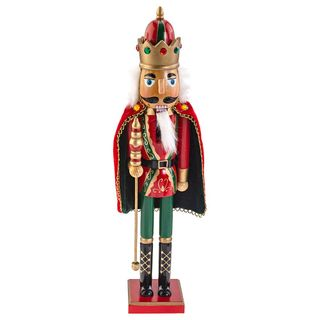 "Wooden figurine""Nutcracker Mouse king"" 38 cm"