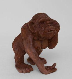 Figurine wooden Monkey 20 cm