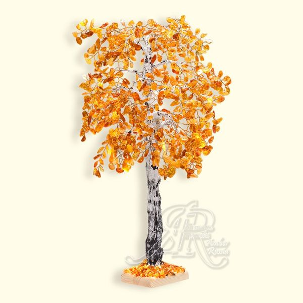 Amber of Russia / Birch souvenir, height 43 cm